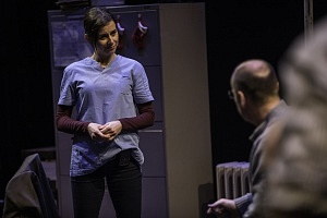 Michelle Monteith as Elena in Butcher. Photo by Dahlia Katz.