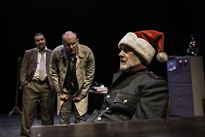 (From left) Tony Nappo, Andrew Musselman, and John Koensgen in Butcher. Photo by Dahlia Katz.