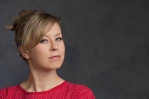 Nicole Underhay (Kitty Warren). Photos by David Cooper.