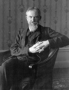 George Bernard Shaw (Playwright).