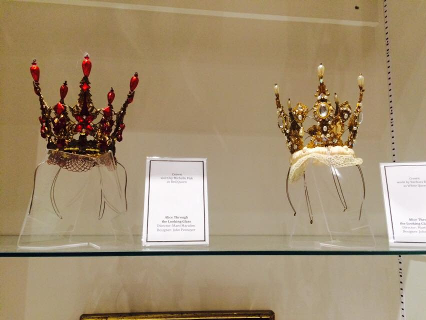Tiaras from Alice Through the Looking Glass (2014).