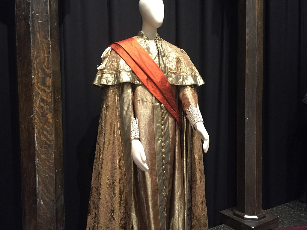 This was a costume from the 2007 production of King Lear, directed by Brian Bedford. This piece was recently used in his memorial to honour him