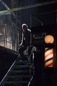 Benedict Campbell as Sweeney Todd. Photo by David Cooper.